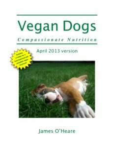 Livre de James O'heare vegan dogs
