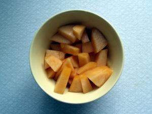 Morceaux de melon
